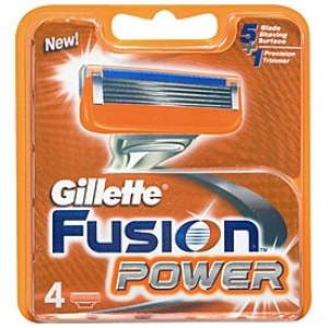 GILLETTE FUSION POWER CARTRIDGES 4