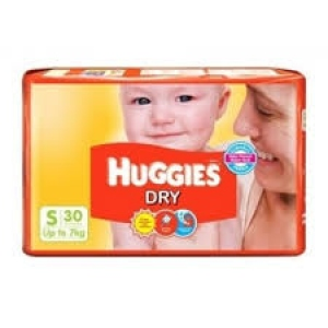 HUGGIES DRY S(UP TO 7KG) 30D