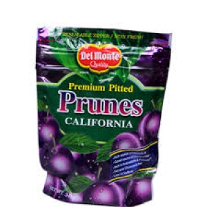DEL MONTE CALIFORNIA PRUNES 130G