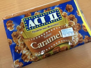 ACT II CARAMEL FLAV POPCORN 16G