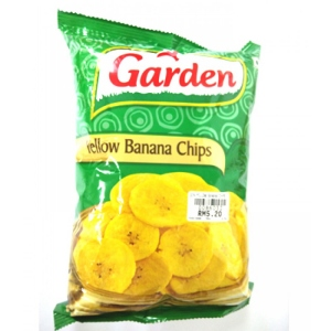 GARDEN YELLOW BANANA CHIPS 90G