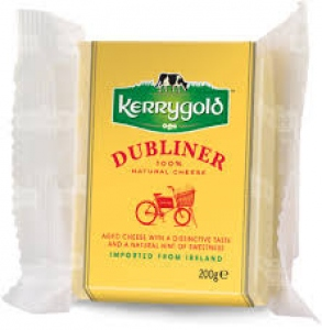 KERRY GOLD DUBLINER SEMI HARD CHEESE 200G