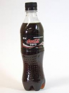 COKE COCA-COLA ZERO PET 400ML
