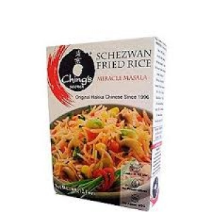 CHING`S SECRET SCHEZWAN F. RICE MIRACLE MASALA 60G