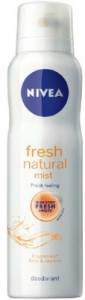 NIVEA DEO FRESH NATURAL MIST 150ML