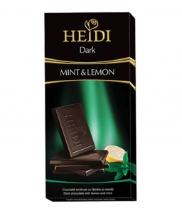 HEIDI DARK MINT & LEMON 80G