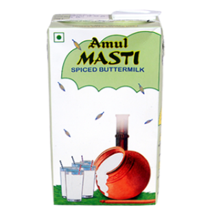 AMUL MASTI SPICED BUTTERMILK 1LTR