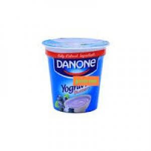 DANONE YOGHURT BLUEBERRY 100G
