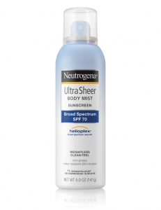 NEUTROGENA ULTRA SHEER BODY MIST 141G