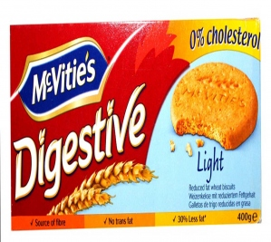 MCVITIES DIGESTIVE LIGHT 400G