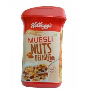 KELLOGG`S MUESLI NUTS DELIGHT JAR 1KG