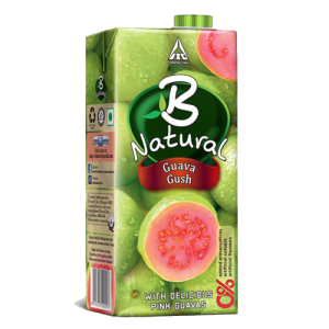 B NATURAL GUAVA GUSH 1L