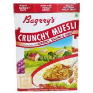 BAGRRY`S CRUNCHY MUESLI WITH ALM;RAIS & HONE 400G