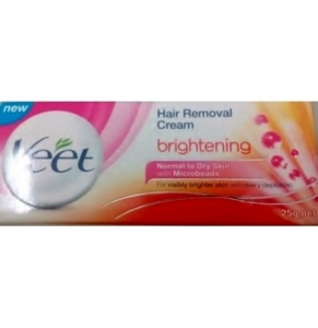 VEET HAIR REMOVAL CREAM BRIGHTENING 25G
