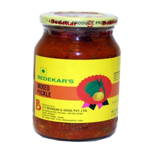 BEDEKAR MIXED PICKLE JAR 400G
