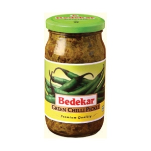 BEDEKAR GREEN CHILLI PICKLE 400G