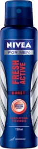 NIVEA MEN FRESH ACTIVE BURST DEO 150ML