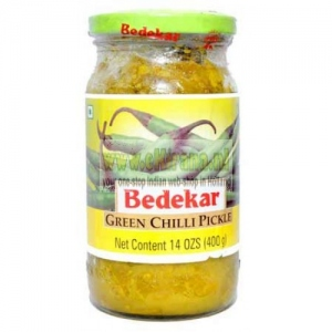BEDEKAR GREEN CHILLI PICKLE 200G