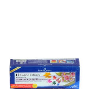 FABER-CASTELL 12 FABRIC COLOURS
