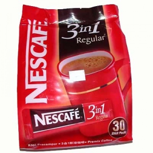 NESCAFE 3 IN 1 CREAMY COFFEEMIX 30 SACHETS