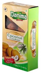 DANIMA COCONUT COOKIES 250G