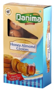 DANIMA HONEY ALMOND COOKIES 250G