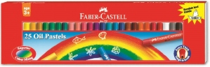 FABER-CASTELL 25 OIL PASTELS 60MM