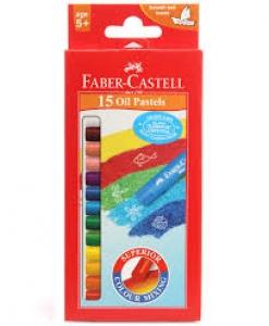 FABER-CASTELL 15 OIL PASTELS