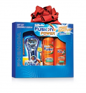 GILLETTE FUSION POWER GIFT PACK