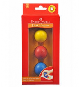 FABER CASTELL 3 BALL CRAYONS