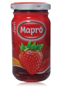 MAPRO WHOLE STRAWBERRY JAM 500G