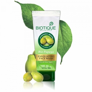 BIOTIQUE BIO PAPAYA EXFOLIATING FW 50ML