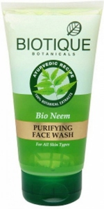 BIOTIQUE BIO NEEM FW 50ML