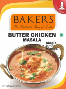 BAKERS BUTTER CHICKEN MASALA 100G