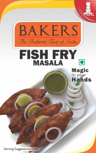 BAKERS FISH FRY MASALA 50G