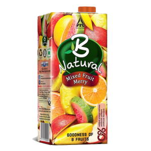 B NATURAL MIXED FRUIT MERRY 200ML
