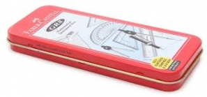 FABER-CASTELL MATHEMATICAL INSTRUMENTAL BOX