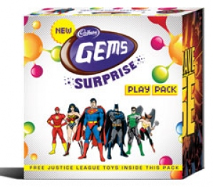 CADBURY GEMS SURPRISE PLAY PACK 40.94G