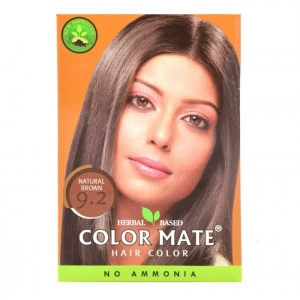 COLOR MATE HAIR COLOR 9.2- NATURAL BROWN 15G