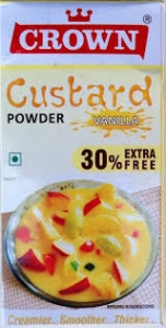 CROWN CUSTARD POWDER VANILLA  130G
