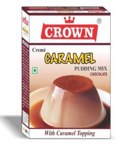 CROWN CARAMEL PUDDING MIX CHOCOLATE 100G