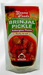 GOANA FOODS BRINJAL PICKLE 200GM