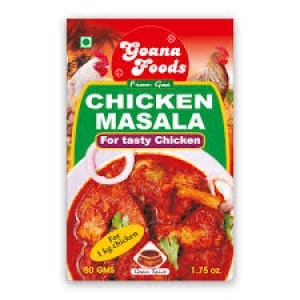 GOANA FOODS CHICKEN MASALA 50GM
