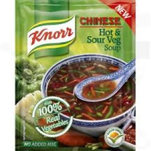 KNORR CHINESE HOT & SOUR VEG SOUP 43G