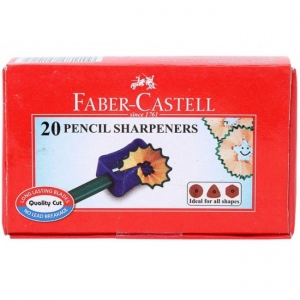 FABER-CASTELL 20 PENCIL SHARPENERS