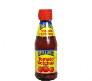 SMITH & JONES TOMATO KETCHUP BOTTLE 200G