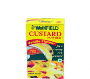 WEIKFIELD VARIETY CUSTARD POWDER 4 X 25G