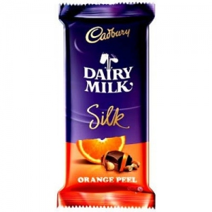 CADBURY DAIRY MILK SILK ORANGE 145G