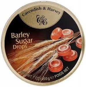 CAVENDISH & HARVEY BARLEY & SUGAR DROPS 200G