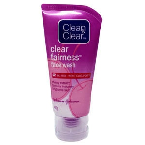 CLEAN & CLEAR CLEAR FAIRNESS FW 80G
